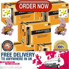 UK's FINEST AND BEST - 50 DURACELL INDUSTRIAL AA BATTERIES ALKALINE 1.5V LR6