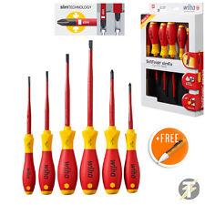Wiha 36455 6 Pezzi VDE 1000v Fessura/Pozi SlimFix Set Cacciaviti + Voltstick