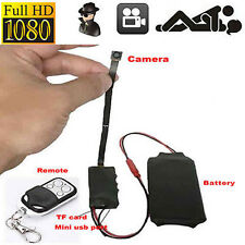 HD 1080P Spy DIY Module Camera Camcorder H.264 Video Hidden Motion DVR Nanny Cam