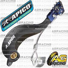 Apico Negro Azul Trasera Pedal De Freno De Palanca Para Yamaha Yz 250f 2006-2009 Motocross