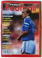 France Football du 14/02/1989; Khidiatouline/ Bordeau, Bez parle technique
