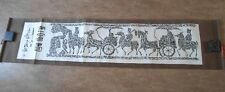 Chinese Stone Rubbing Scroll - Horse Wagons