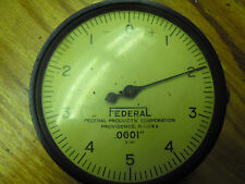 Packard Motor Car Co Dial Indicator .0001 (1/10,000) 3 1/2 face dia