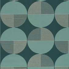Designtex Contemporary Mid Century Modern Retro Upholstery Fabric Remnant 3 yds