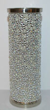 BATH & BODY WORKS GLITTER GEMS METAL FINE FRAGRANCE MIST COVER SLEEVE HOLDER