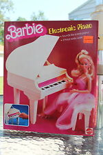 1981 Barbie ELECTRONIC PIANO  MINT IN BOX FACTORY SEALED