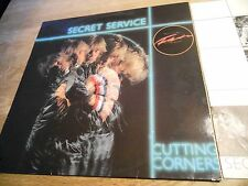 SECRET SERVICE CUTTING CORNERS 1982 SONET GRAMMOFON AB. SWEDEN NCB 10 TRACKS OOP