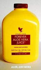 8 bottles of Forever Aloe Vera Juice 1 Liter FREE SHIPPING!!! Only $16.00 each