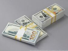 THE BEST PROP MONEY $50k NEW STYLE $100 Full Print Stack for Movie, TV, Video