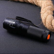 5000LM Zoomable Focus T6 LED 26650 Flashlight Focus Torch Lamp Light G700 X800