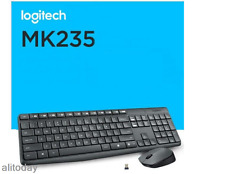 NEW Logitech MK235 2.4GHz Multimedia USB Wireless Keyboard and Mouse Combo