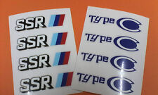 SSR TYPE C Repair Sticker- FREE WORLDWIDE SHIPPING