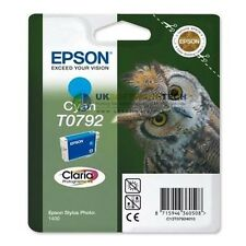 Epson Stylus Claria Photographic T0792 Ink Cartridge Inkjet Printer (Cyan)