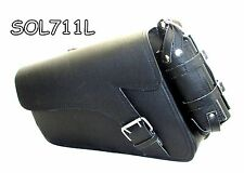 Motorcycle swingvarm bag Solo Side Bag Single Saddlebag For Harley Davidson Spor