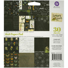 "Prima Marketing Paper Pad 6""X6"" 30/Pkg-Forever Green"