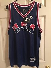 Vintage Starter 1992 USA Basketball Jersey Mens Large Brand New With Tags NWT