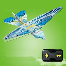 So Amazing 27MHz Blue Flying E-Bird Kid's RC Toy Flying Bird Remote Control !