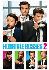 Horrible Bosses 2 (DVD, 2016) ACCEPTABLE
