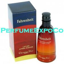 FAHRENHEIT by Christian Dior After Shave Lotion 1.7 oz For Men *VINTAGE*