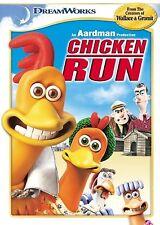Chicken Run - Kids Disney Animated Cartoon DVD Movie (DVD, 2000)