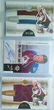 LOT 3 GABRIEL LANDESKOG ULTIMATE JERSEY AUTO & PATCH & SIGNATURE UD 2011 11 12