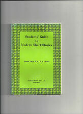 Students' Guide to Modern Short Stories Denis Frize Graham Brash Singapore E13
