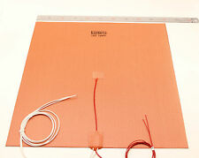 Commercial & Industrial Grade Large 3D Printer Build Plate Silicone Heater 50CM