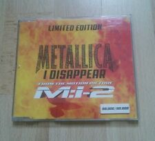 """Metallica Limited Edition """"I disappear"""" Mission: Impossible 2 RAR TOP"""