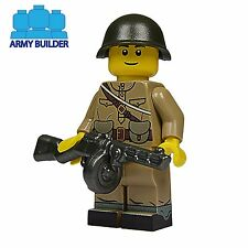 WW2 Russian Infantry Soldier Minifigure made using custom printed Lego parts