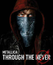 Metallica Through the Never (DVD, 2014, 2-Disc Set) NEW