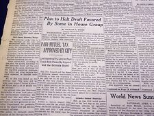 1946 APRIL 6 NEW YORK TIMES - PARI-MUTUEL TAX APPROVED BY CITY - NT 2294