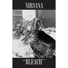 Nirvana BLEACH Debut Album LIMITED EDITION New Sealed Black Cassette Tape