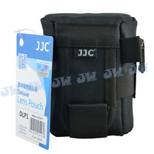 JJC 75*125mm Deluxe Lens Pouch Case for Canon EF-S EF-M 18-55mm 1:3.5-5.6 Lens