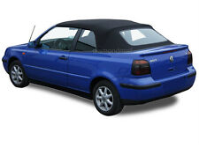 VW Volkswagen Golf Cabrio Cabriolet 1995-2001 Convertible Soft Top Black German