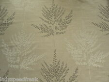 Harlequin Curtain Fabric FOLIUM 4.0m Hemp/Chalk Ferns on Shimmering Cloth Design