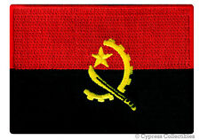 ANGOLA NATIONAL FLAG PATCH AFRICAN iron-on EMBROIDERED AFRICA SOUVENIR EMBLEM