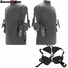 Tactical Shoulder Left Right Hand Gun Pistol Holster Bag Airsoft Hunting Pouch