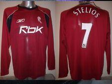 Bolton Wanderers Stelios XL BNWT Shirt Jersey Football Soccer Reebok Greece New