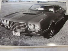 1972  FORD TORINO COUPE  12 X 18  PHOTO  PICTURE