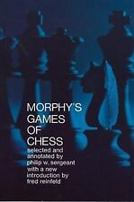 Dover Chess: Morphy's Games of Chess by Philip W. Sergeant (1957, Paperback)