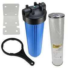 Hauswasserfilter 20 Zoll BigBlue Vorfilter Gartenfilter Brunnen + Eisenfilter