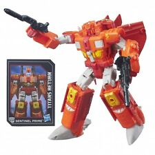 TRANSFORMERS GENERATIONS TITANS RETURN VOYAGER CLASS SENTINEL PRIME FIGURE