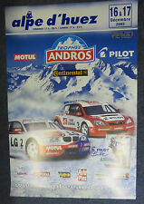 Trophee Andros Alpe d`huez 2005 Official Poster - Alain Prost Toyota