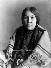 Photo. 1909. Native American Crow Indian - Carries The War Staff