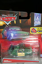 "DISNEY PIXAR CARS 2 ""STEFAN GREMSKY"" NEW IN PACKAGE, SHIP WORLDWIDE"