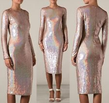 **GIVENCHY** Pearlescent Sequin Midi Dress **RUNWAY** **£3995.00**