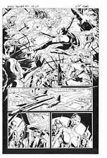 MARVEL BLACK PANTHER #9 PAGE 3 ORIGINAL ART by WILL CONRAD