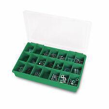 6 x Sortierkasten Sortierkiste Sortimentskasten Sortierbox 21 Fächer 290x195x54