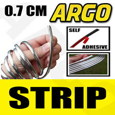 CHROME STYLING STRIP FIAT 500 UNO PANDA GRANDE PUNTO SX