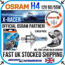 2x OSRAM H4 X-RACER BULBS PERFORMANCE Vespa LX 125